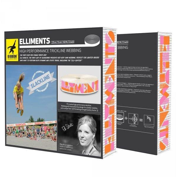 Image du packaging du produit gibbon elliments webbing
