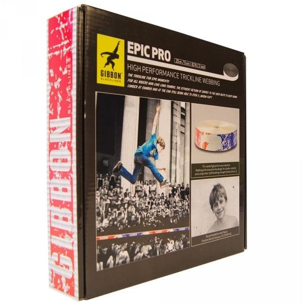 Image du packaging du produit gibbon epic pro webbing