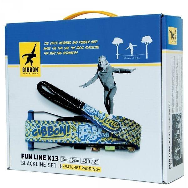 Image du packaging de face du produit kit gibbon fun line X13
