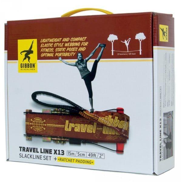 Image du packaging de face du produit gibbon travel line x13
