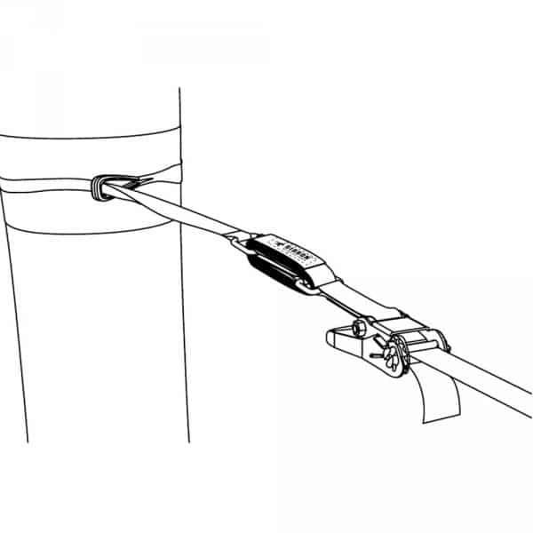 Dessin representant le produit Gibbon slow attache à un arbre